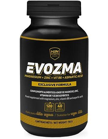 ZMA Zinc Magnesio Vitamina B6 de HSN Sports | Evozma | Mejora el Entorno Hormonal elevando
