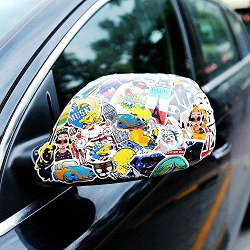 Laptop Stickers 100pcs Nuoxinus Car Stickers Skateboard
