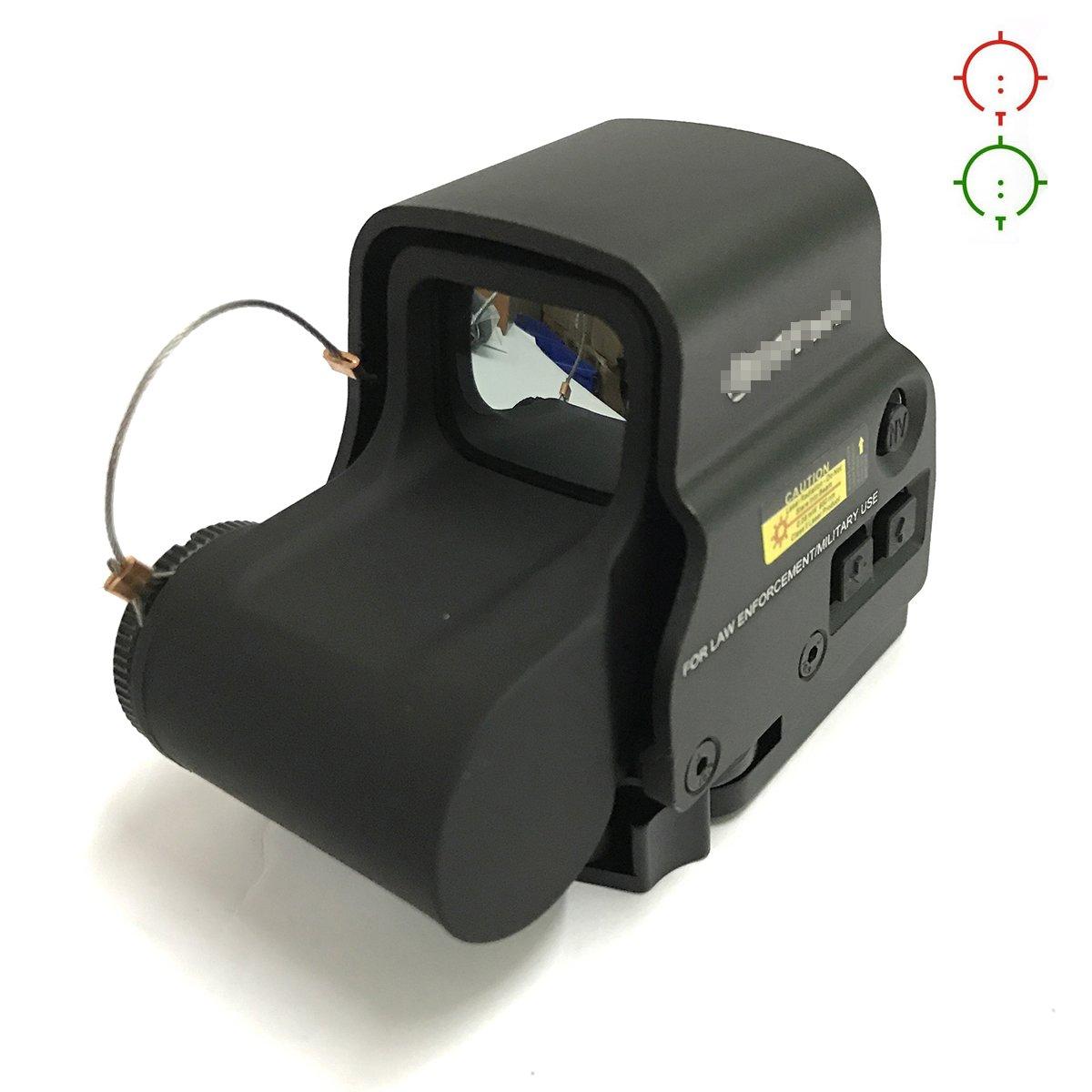 ATAIRSOFT Airsoft táctico holográfico 558 Nuevo visor de puntos rojo y verde negro WorldShopping4U