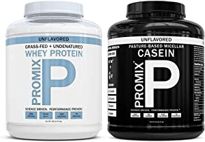 Promix Nutrition Grass Fed Whey + Casein Bundle