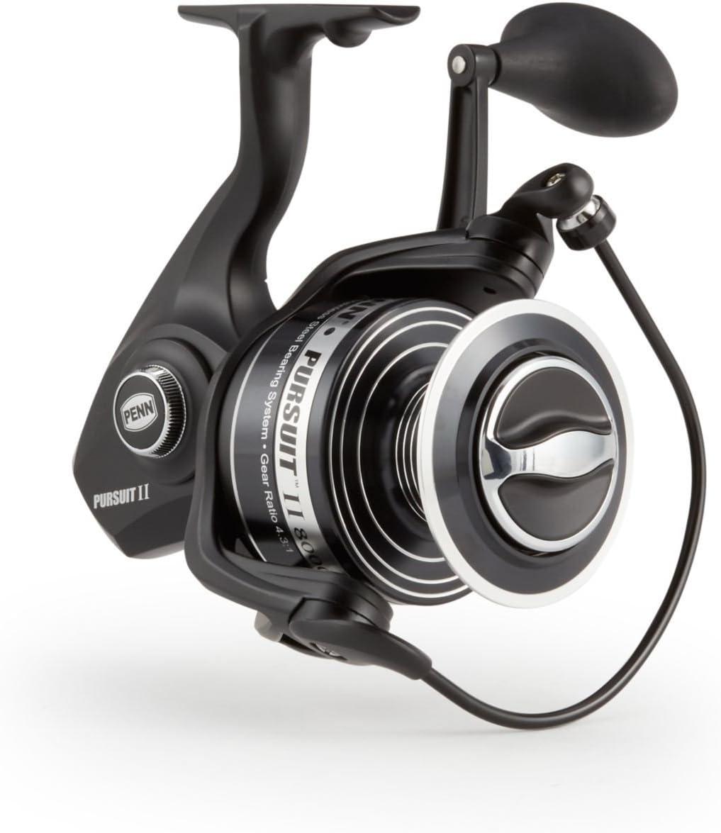 Penn búsqueda Spinning Carrete de Pesca, Unisex, 8000: Amazon.es ...
