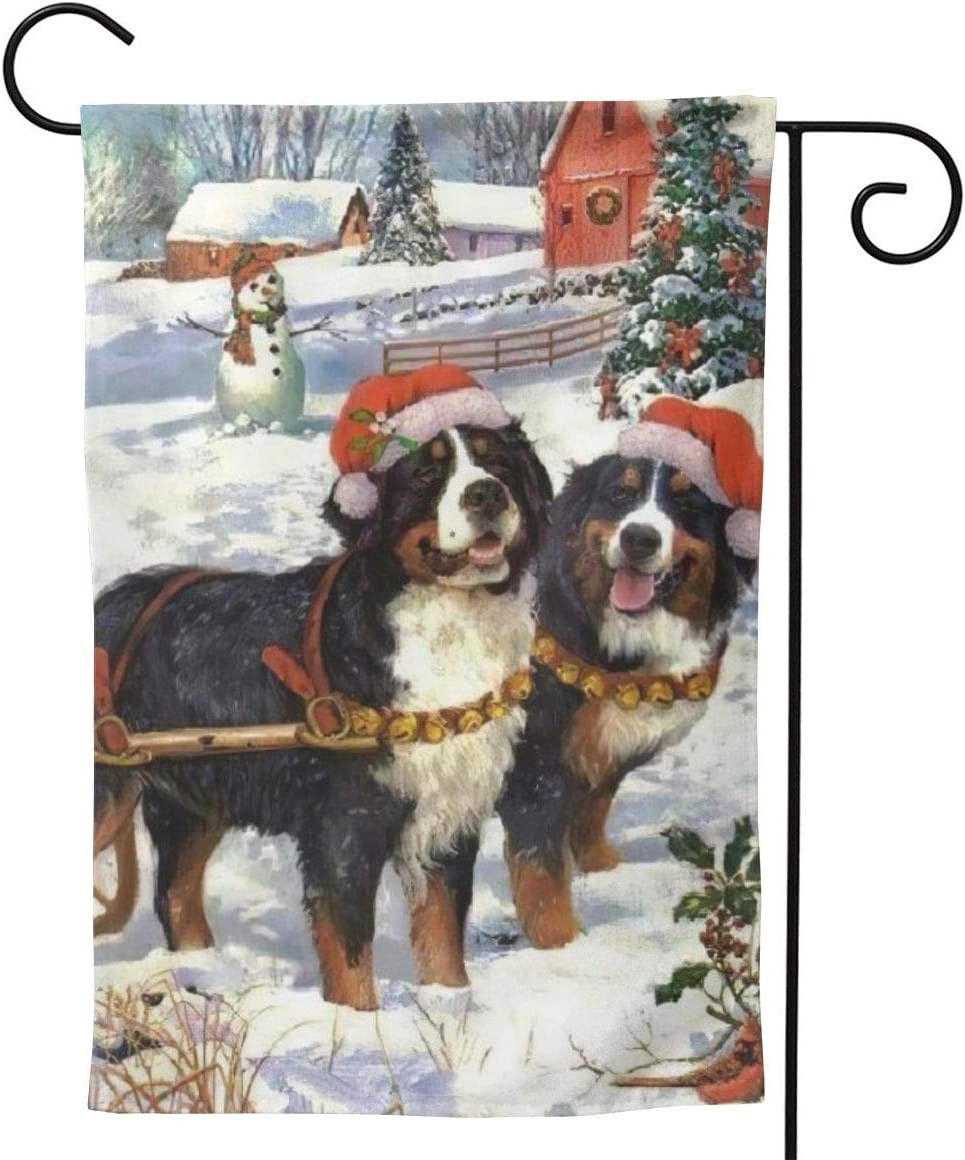 Only Pineapple Car Bernese Mountain Dogs Seasonal Family Welcome Double Sided Garden Flag Outdoor Funny Decorative Flags for Garden Yard Lawn Decor Party Gift Many Sizes
