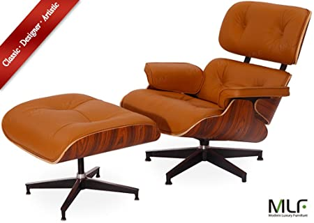 MLFu0026reg; 100% Reproduction Of Eames Lounge Chair U0026 Ottoman (5 Colors).