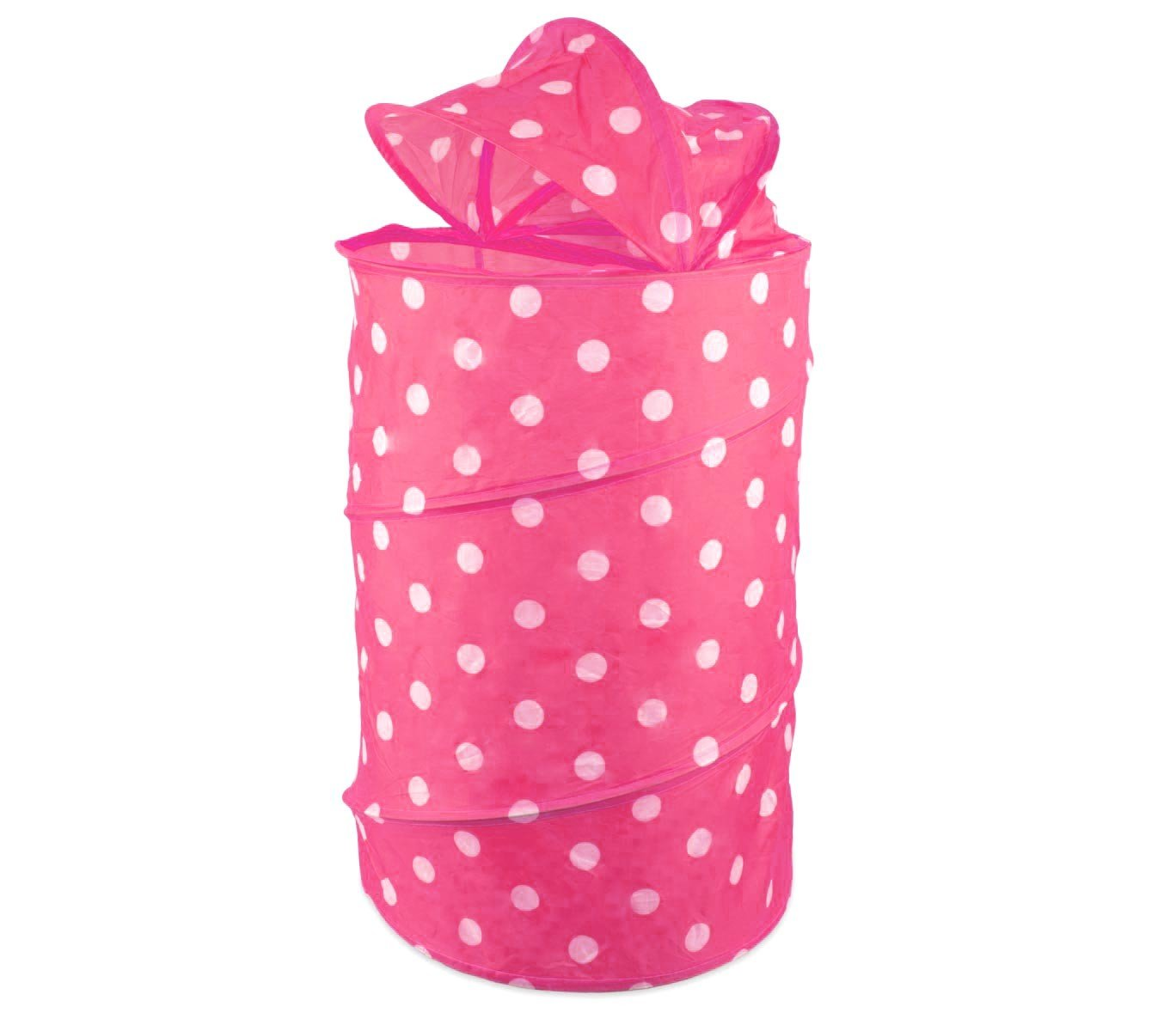 poli/éster Color Rosa dise/ño de Minnie Mouse 36/x/36/x/58/cm Arditex Cesto de Almacenamiento