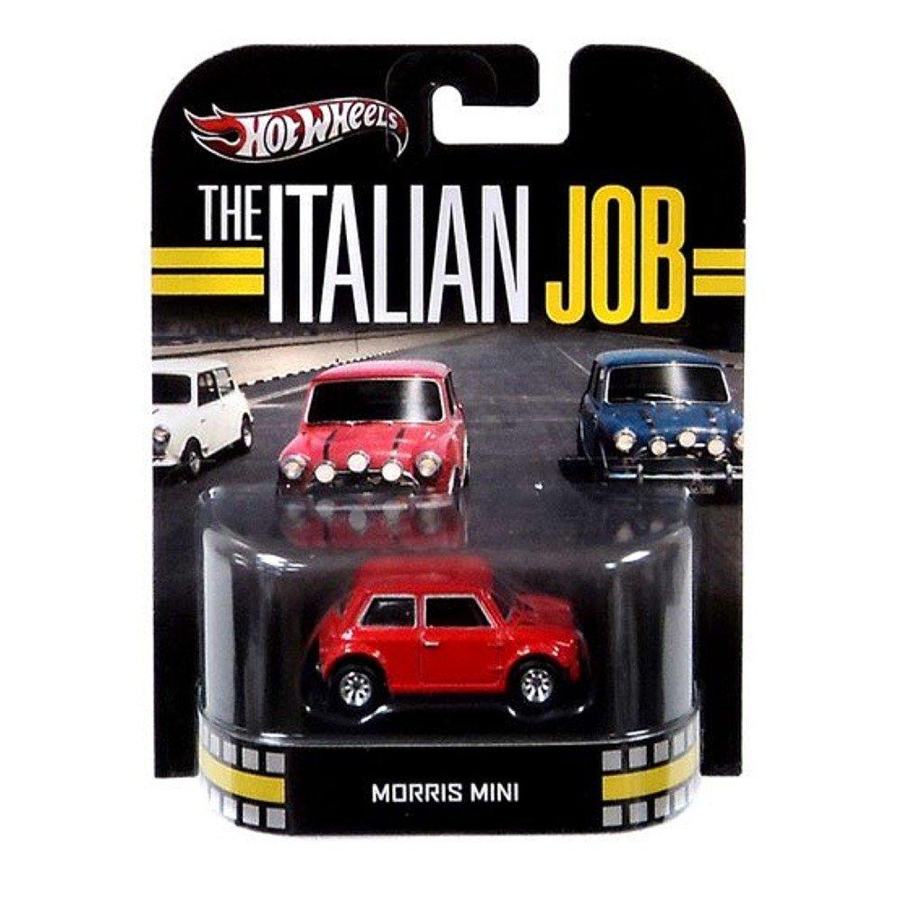 Hot Wheels Retro The Italian Job 1:55 Die Cast Car Morris Mini [Red] by Hot Wheels Mattel