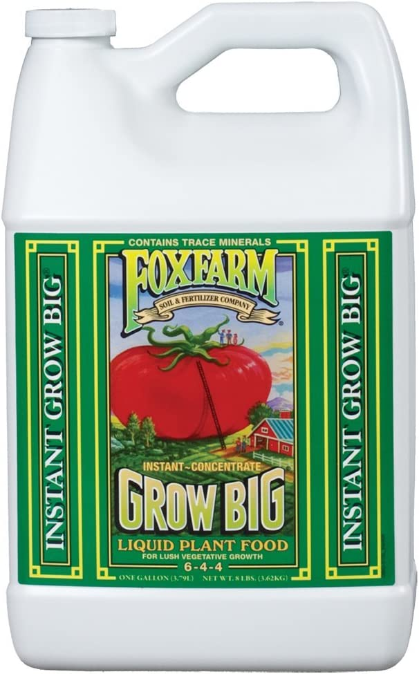 FoxFarm Grow Big Soil Liquid Concentrate Fertilizer, 1 Gallon