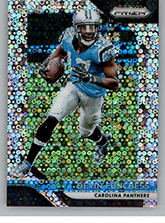 2018 Panini Prizm Prizm Disco Football  171 Devin Funchess Carolina  Panthers Official NFL Trading Card 594dd3073