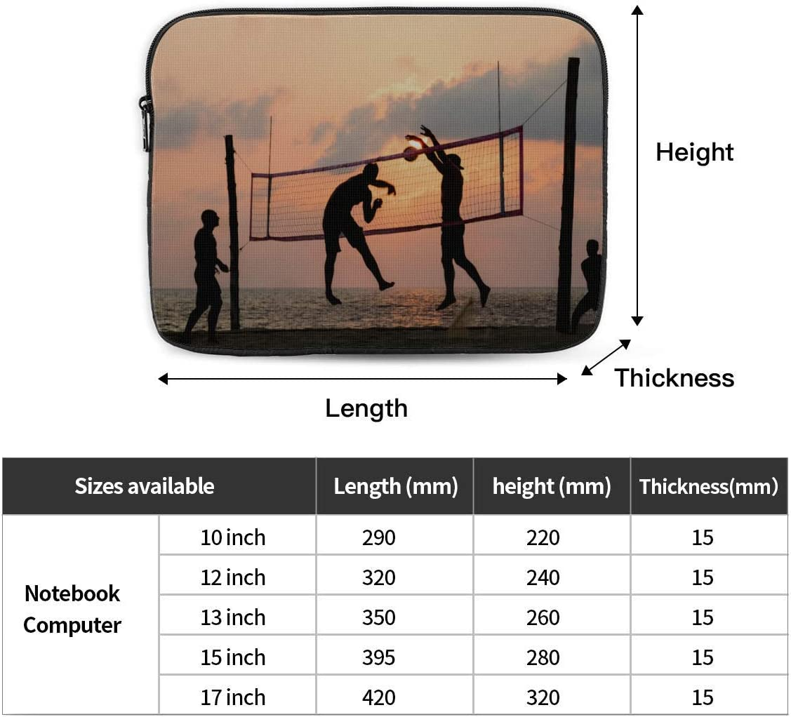 Laptop 13 Inch Case Beach Volleyball Player MacBook Air Cover Hard Shell Mac Air 11//13 Pro 13//15//16 with Notebook Sleeve Bag for MacBook 2008-2020 Version