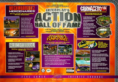 Action Hall Of Fame