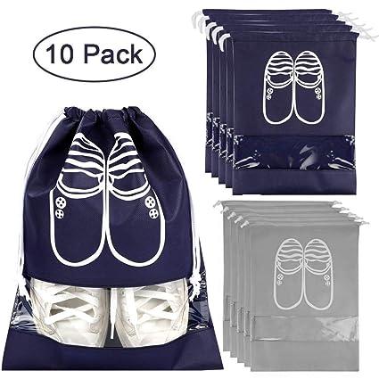 RIGHTWELL 10 Pack Bolsa de Zapatos - Bolsas para Zapatos con ...