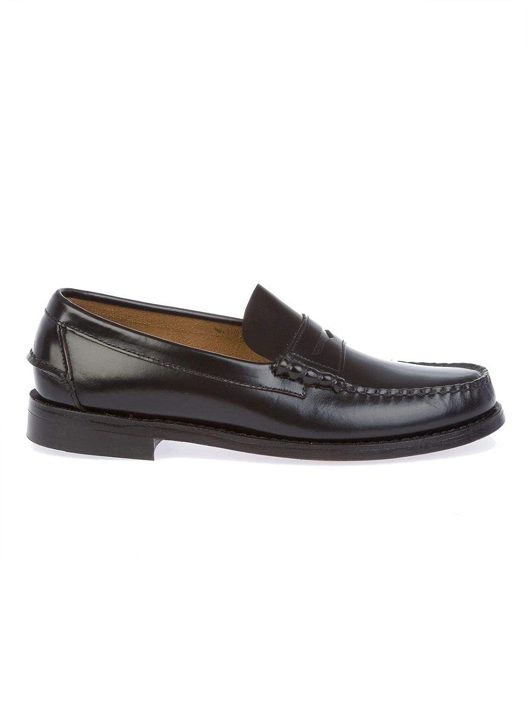 Sebago Hombre B76671BLACK Negro Cuero Zapatos: Amazon.es: Zapatos y complementos