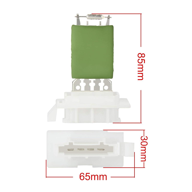 Oranges Autoparts 1K0959263A Heater Blower Motor Fan Control Resistor