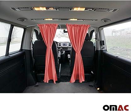 Für VW T6 Transporter VI Vorhänge Sonnenschutzgardine MAß Gardinen Langer Beige