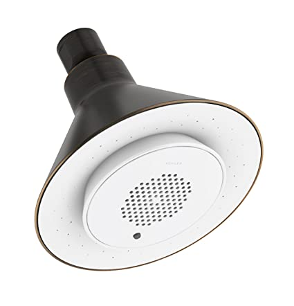 8d3e8b53c29 KOHLER K-9245-2BZ Moxie 2.5 gpm Single-Function Wireless Speaker Showerhead  Oil-Rubbed Bronze - Fixed Showerheads - Amazon.com