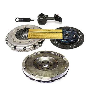 exedy embrague Pro-Kit + esclavo Cilindro + Volante 00 - 04 Ford Focus L DOHC 5 velocidad: Amazon.es: Coche y moto