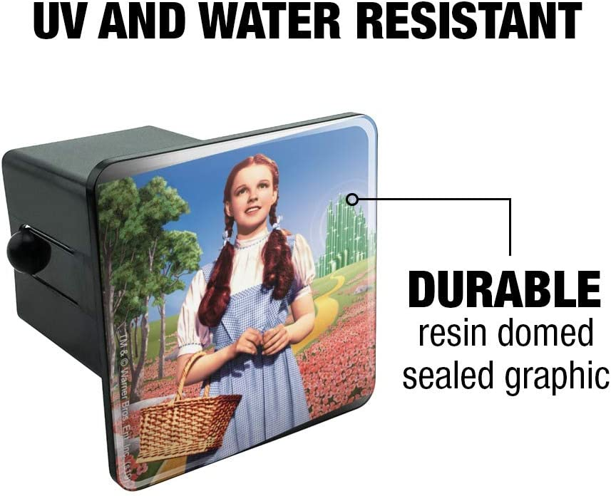 Graphics and More Wizard of Oz Dorothy Character Tow Trailer Hitch Cover Plug Insert