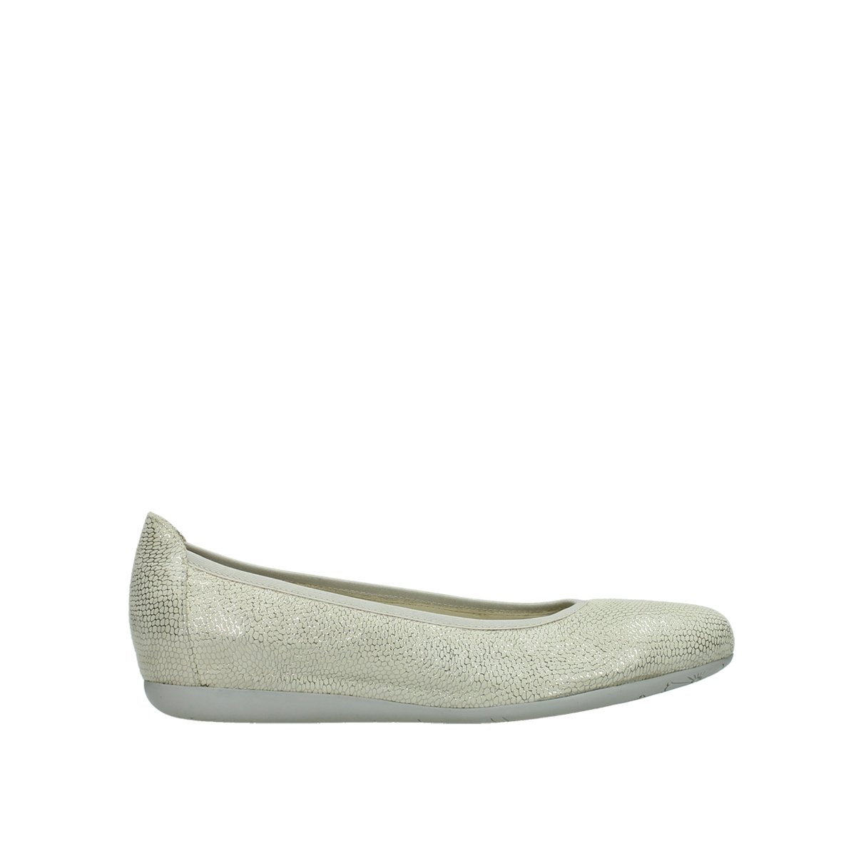 Wolky Comfort Ballet Pumps Tampa B01LXAIC2T 41 M EU|20120 Off-white Leather