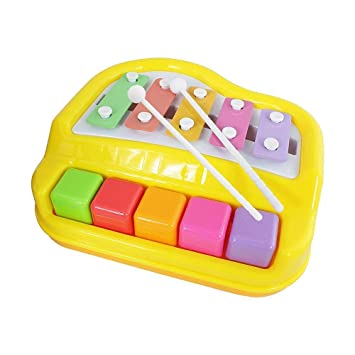 Bebés Llaves Niños Piano 5 De Para Xilófono Juguete Txvso Mini tosxBhdCQr