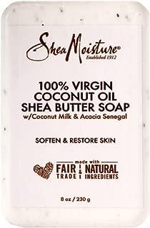 product image for Shea Moisture Soap 8 Ounce Bar 100% Virgin Coconut Oil & Shea (236ml) (2 Pack)