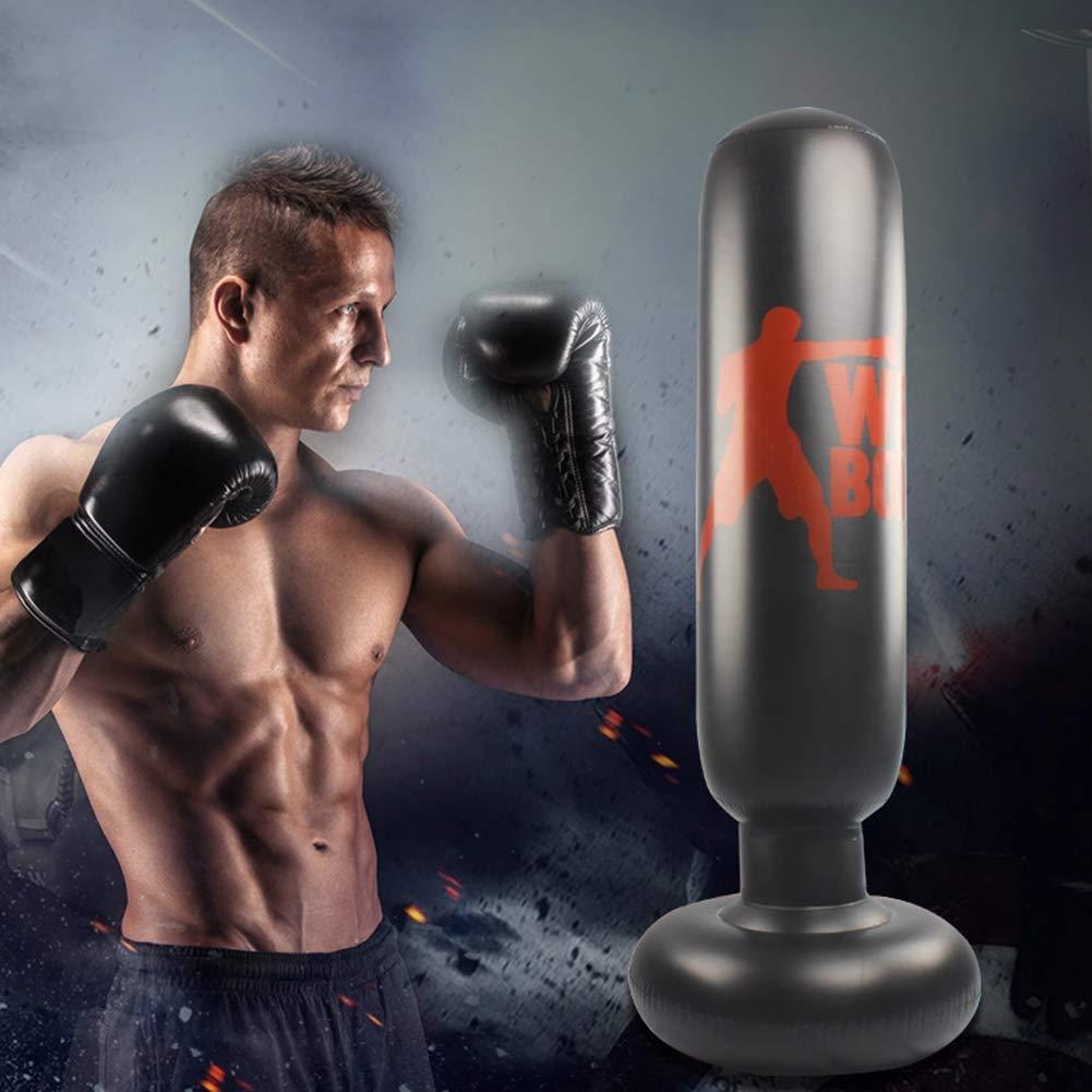 Amazon.com: KKLU Saco de boxeo para niños, saco de boxeo ...