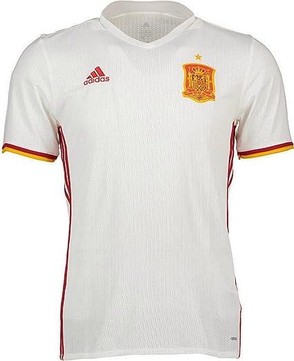 8041a032e5bda Camiseta Selección Española Away Mundial 2016-2017 White-Red Talla S