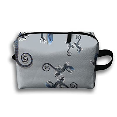 Gecko Indigo Travel Toiletry Bags Shaving Kit