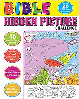 Bible Hidden Picture Challenge Twin Sisters Karen Mitzo