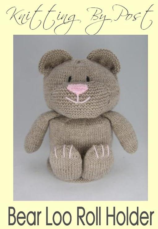 Knitting Pattern. Bear Toilet Roll Holder: Amazon.co.uk: Toys & Games