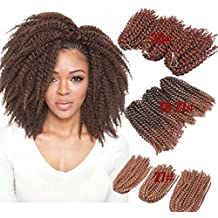Colorwigy Kinky Curl Crochet Braids Hair Extensions 6 packs/lot Synthetic Crochet Braiding Hair For Women