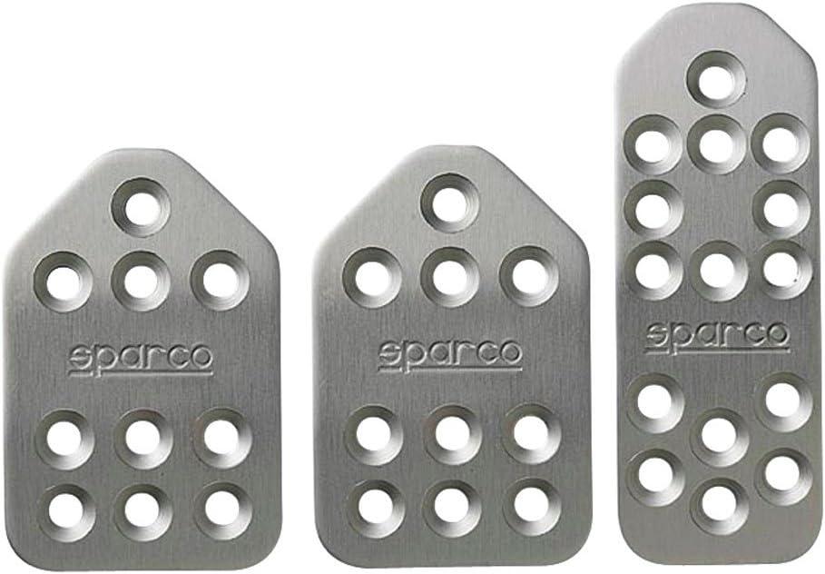 SPARCO S037879BT01 P/édales Piuma Gris 3Pcs Normal