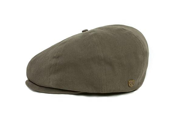 eea102c26dd14 Amazon.com  Brixton Men s Brood Newsboy Snap Hat  Clothing