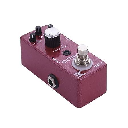 Pedal de Efectos para Guitarra Eléctrica EX – Pedal de efecto 18 efectos para elegir, Octaveur: Amazon.es: Instrumentos musicales