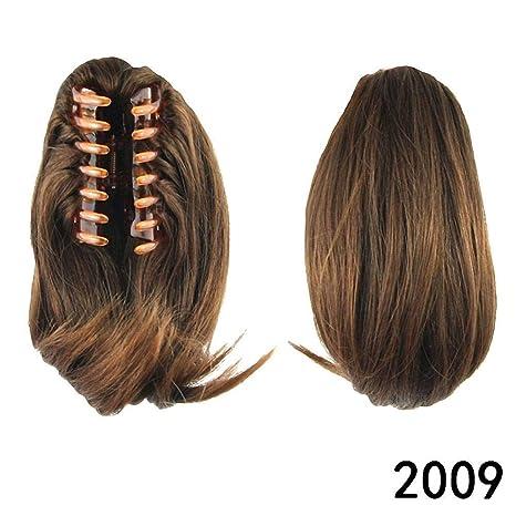 "prettywit 10 ""Pony Tail Extensiones de pelo coleta de pelo peluca largo Messy rizos"