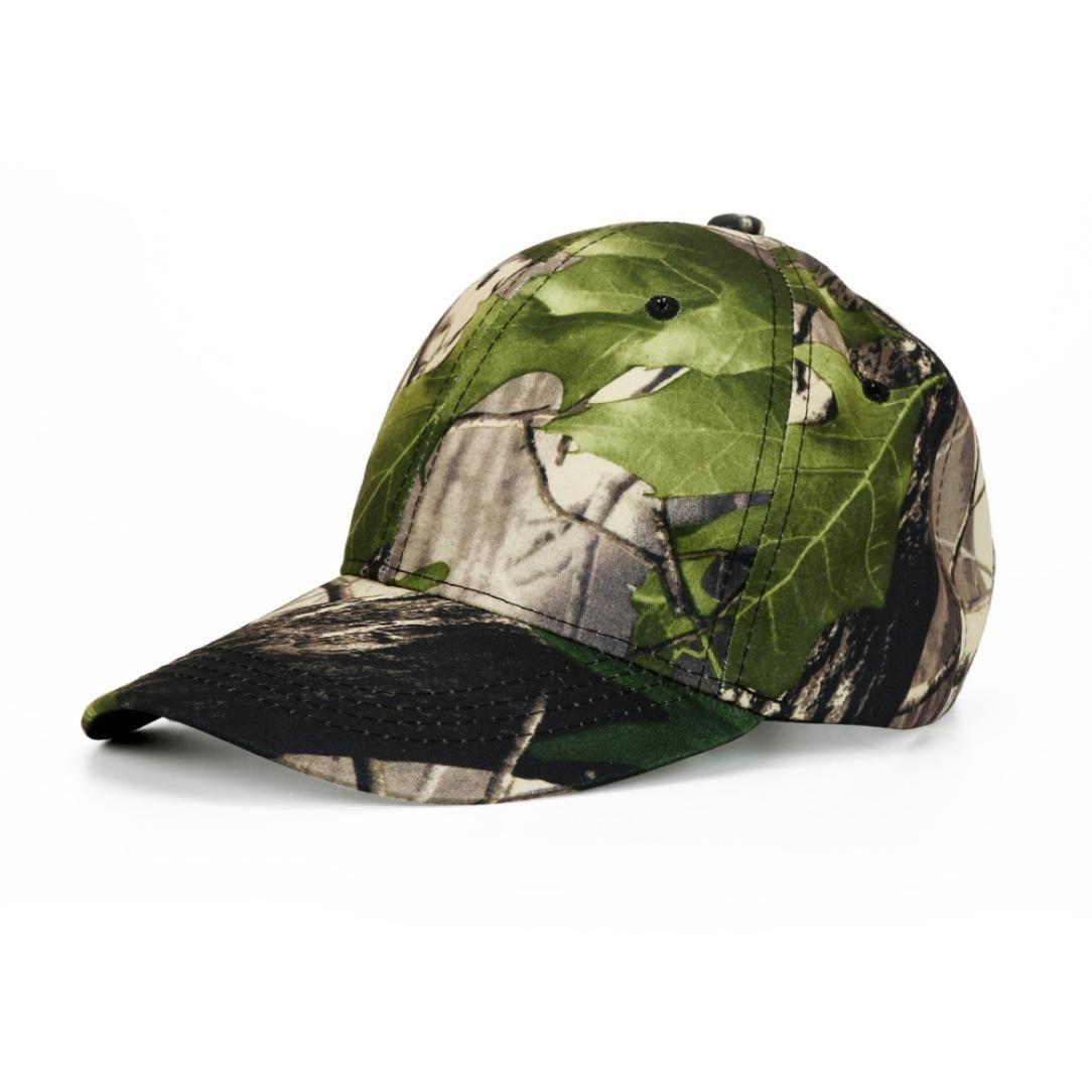 Hemlock Hats Outdoor Running Caps,Hemlock Sports Sun Cap Camouflage Fishing Hat Snapback Baseball Cap Adjustable Beach Hats (Beige)