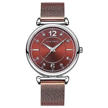 282916a35f35 QRMH Reloj de Las Mujeres de la simulación de Relojes Importados de Cuarzo  Reloj de Oro