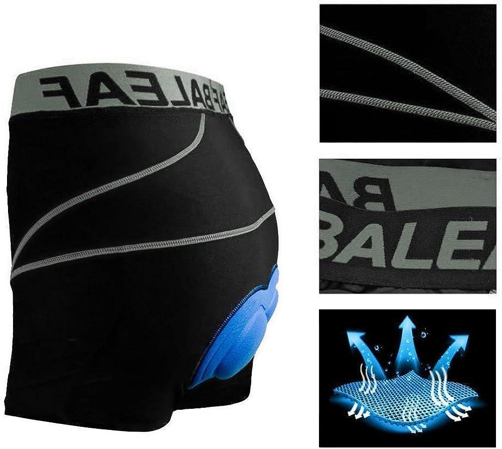 BALEAF Mens Bike Cycling Underwear Shorts 3D Padded Bicycle MTB Liner Shorts