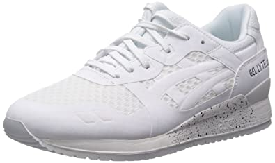 Asics Gel Lyte III NS Mens White Mesh Athletic Lace Up