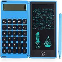 Bobotron Rechner Notepad Tableta de escritura LCD de 6 pulgadas con lápiz capacitivo, función de bloqueo de botones…