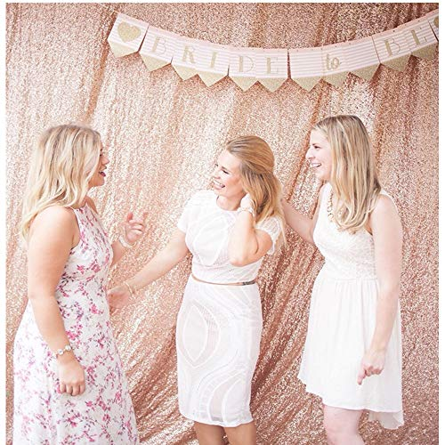 QueenDream Shimmer Backdrop 7ftx7ft Champagne Sequin Backdrop - Backdrop Photography and Photo Booth Backdrop for Wedding/Party/Photography/Curtain/Birthday/Christmas/Prom/Other Event Decor]()