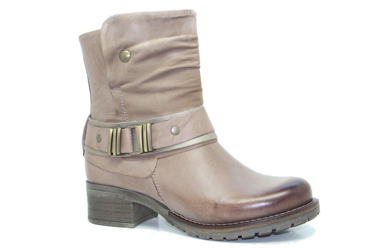 Dromedaris Women's Kikka Boot B01MYNP8XD 42 M EU|Taupe