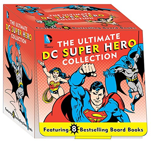The Ultimate DC Super Hero Collection: 8 Bestselling Board Books (DC Super Heroes)