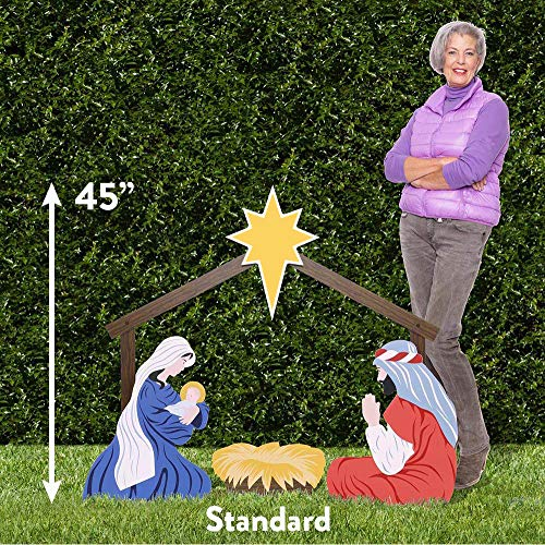Outdoor Nativity Store Holy Family Outdoor Nativity Set (Standard, Color) by Outdoor Nativity Store (Image #1)