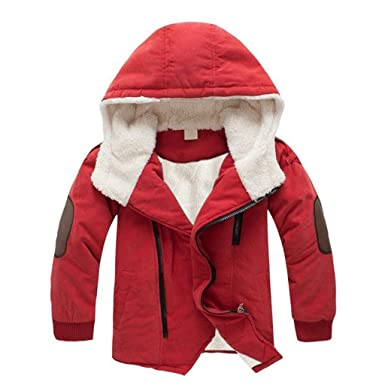 2837a666255f Wanshop for 3-9 Years Old Kids Coats Children Jackets Boys Hooded ...