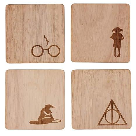 ee09adbd610 Harry Potter Wood Coasters