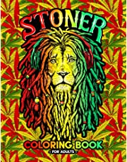 Stoner Coloring Book for Adults: 47 Psychedelic Pages for Stress Relief & Relaxation