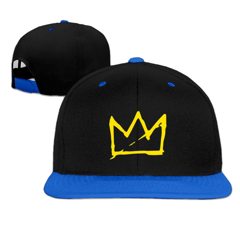 5b1a9c1ce14 Amazon.com  Basquiat Crown Snapback Baseball cap hip hop cap Green (5  colors)  Clothing