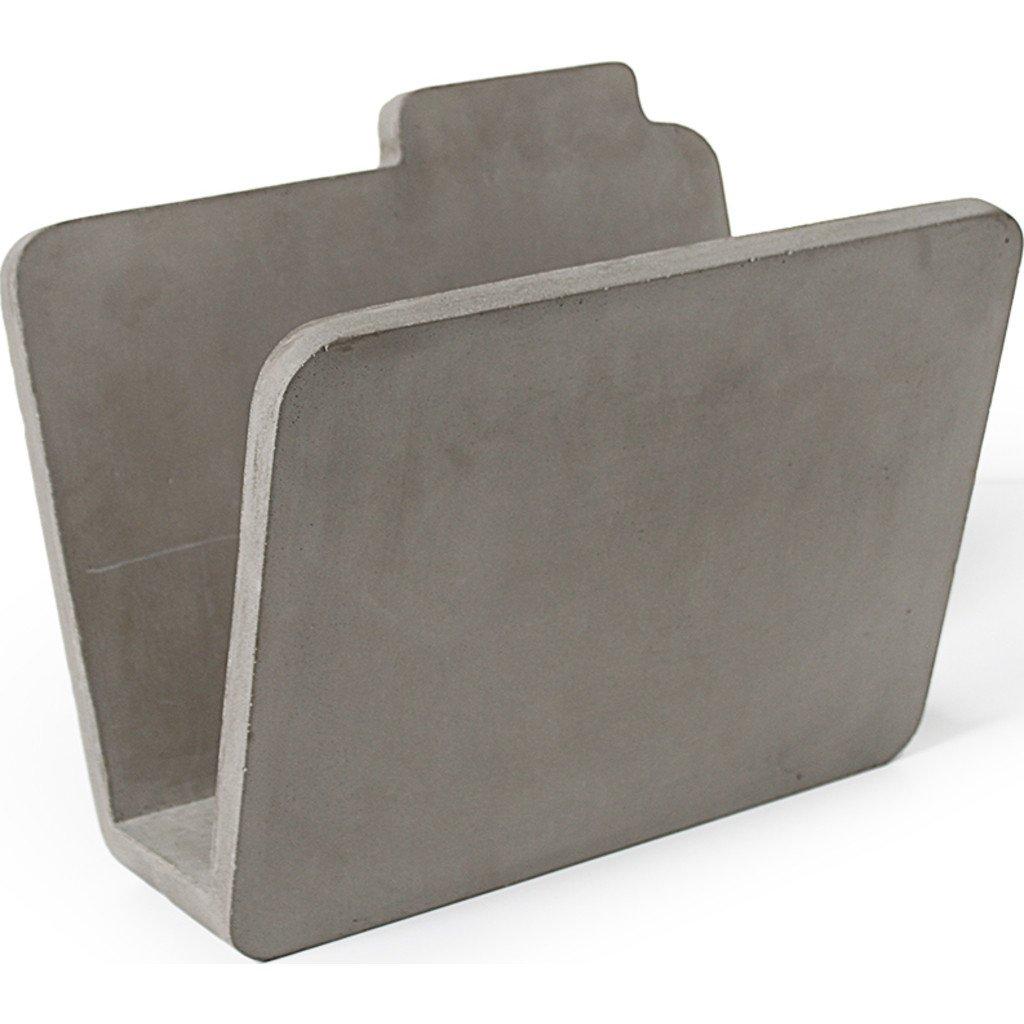 Lyon Beton Magazine Rack - Concrete