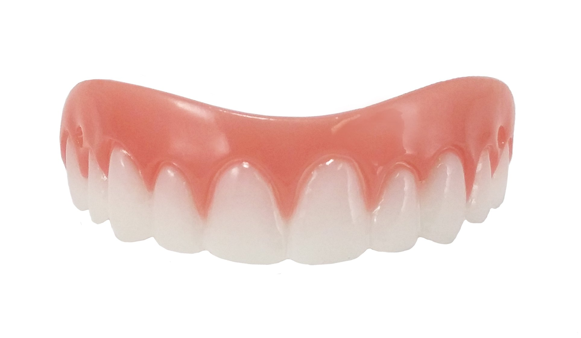 Billy-Bob Instant Smile Comfort Fit Flex Cosmetic Teeth, One Size Fits Most, Comfortable Upper Veneer