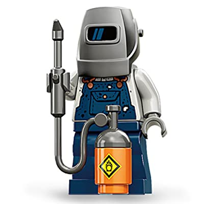 LEGO Minifigures Series 11 Welder Mini Figure: Toys & Games