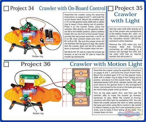 amazon com snap circuits motion electronics exploration kit over rh amazon com Snap Circuits Arcade Elenco Snap Circuits Motion Detector